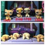 Кошки (стоячки) pet shop на новый год. Фото 1.