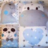 Зверюшки подушки бортики. Фото 2.