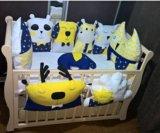 Зверюшки подушки бортики. Фото 1.