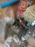 Алмазное бурение отверстий в бетоне. Фото 1.