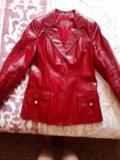 Пиджак кожаный. Фото 1.