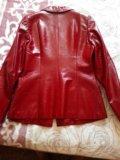 Пиджак кожаный. Фото 2.