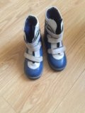 Обувь натуральная кожа, мех натуральный обмен. Фото 4.