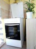 Кухонная плита веко и вытяжка ханса. Фото 1.