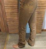 Брюки коричневые gant. Фото 1.