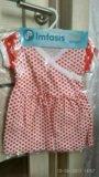 Новое платье-боди, размер74. Фото 1.
