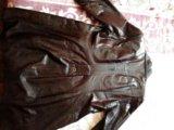 Кожаный плащ. Фото 2.