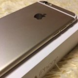 Iphone 6 gold. Фото 3.