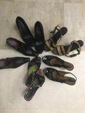 Обувь женская размер 38 39 бу. Фото 1.