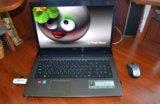 "17"" ноутбук acer i3-2350/ radeon 2гб/ 4гб/ 650гб. Фото 1."