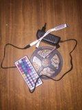 Светодиодная лента 5 метров с пультом управления. Фото 1.