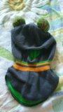 Детская шапка шлем. Фото 2.