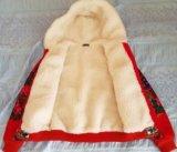 Куртка на овчине. Фото 2.