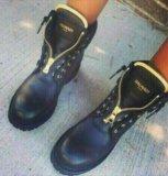 Ботинки балмайн. Фото 1.