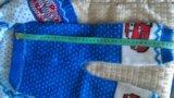 Костюм вязаный с тачками на 5 месяцев. Фото 3.