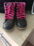 Ботинки для девочки. Фото 1.