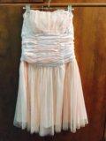 Платье без бретелек. Фото 1.