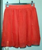 Легкая персиковая юбочка. Фото 1.