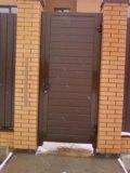 Калитка под ворота ,входная дверь , рол ворота. Фото 2.