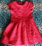 Малиновое платье новое. Фото 1.
