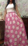 Платье летнее 42-44 р, отрадное. Фото 1.