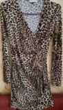 Леопардовое платье. Фото 2.