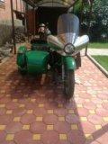 Мотоцикл урал. Фото 1.