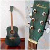 Гитара лазурная hohner. Фото 1.