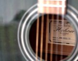 Гитара лазурная hohner. Фото 3.