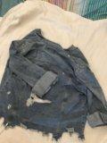 Джинсовка джинсовая куртка. Фото 3.