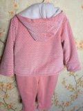 Весенний костюмчик для девочки комбинезон ветровка. Фото 3.