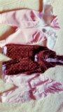 Пакет фирменных вещей на малышку до 6мес. Фото 4.