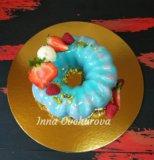 Торт с ягодками. Фото 2.