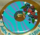 Торт с ягодками. Фото 3.