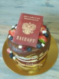 Торт с ягодками. Фото 4.