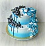 Свадебный торт. Фото 1.