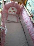 Кроватка детская в комплекте. Фото 2.