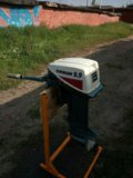 Лодочный мотор evinrude 9.9. Фото 1.