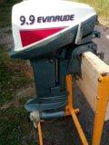Лодочный мотор evinrude 9.9. Фото 3.