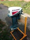 Лодочный мотор evinrude 9.9. Фото 4.