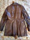 Куртка пиджак, натуральная кожа. Фото 2.