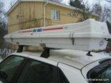 Багажник на крышу авто. Фото 1.