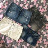 Джинсовые юбки 42-44-46. Фото 1.