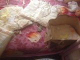 Бортики в кроватку+балдахин. Фото 2.
