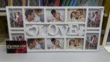 Рамка love. (новая). Фото 1.
