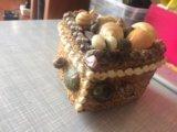 Шкатулка для украшений(из натуральных ракушек). Фото 4.