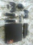 Playstation 3 (1 тб, геймпад, камера, 2 мува). Фото 1.