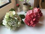 Ручная работа (handmade) цветы из японской глины. Фото 3.