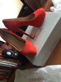 Туфли женские calipso велюр/кожа. Фото 2.