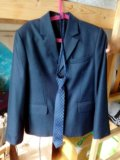 Пиджак школьный. Фото 1.